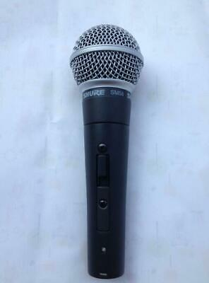 used SHURЕ SM58 with Switch(on---off) Dynamic Vocal Microphone SM58 Mic