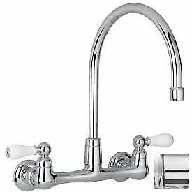 """American Standard® Heritage Wall Mount Kitchen Faucet, 2.2 GPM, 12-1/2""""H,"""
