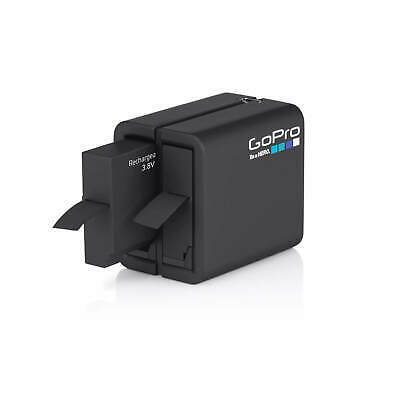 GoPro Official Genuine Dual Battery Charger Dock Rechargeable Battery for Hero 4