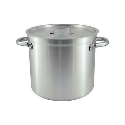 Stockpot with Cover / Lid 40L Aluminium Chef Inox Commercial Stock Pot