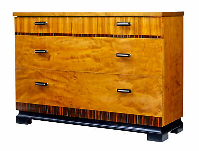 1950's SCANDINAVIAN MODERN DECO SMALL CHEST OF DRAWERS