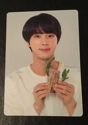 BTS Love Yourself World Tour Concert Official Mini Photocard Photo Card JIN 5/8