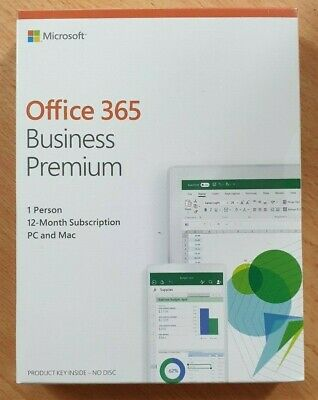 Microsoft Office 365 Business Premium 1 User (1 Year)