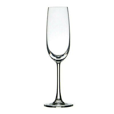 24x Crown Commercial Madison Flute Glass 210mL Champagne Sparkling Wine