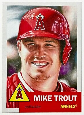 2019 Topps Living Set - MIKE TROUT #200 - Los Angeles ANGELS