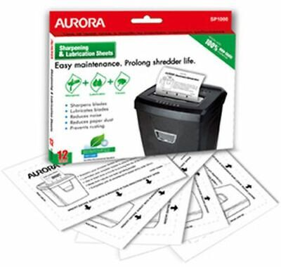 Aurora SP1000 Lubrication Sheets 12PK
