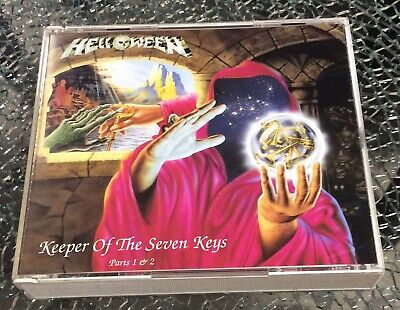 HELLOWEEN Keeper of the Seven Keys Parts 1 & 2 CD 2-Disc 1993 Japan VICP-40134~5
