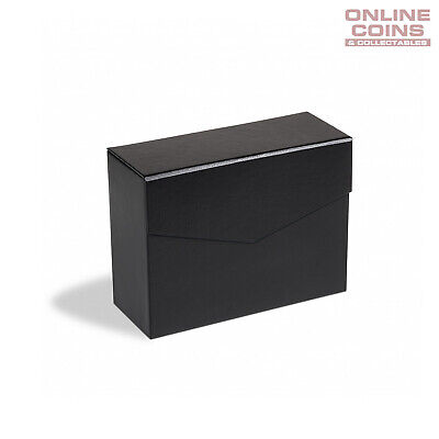 Lighthouse Mini Black Archive Box Logik A5 - Perfect for Carded Coins & Postcard