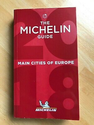 Guide Michelin Main Cities 2018, neuf