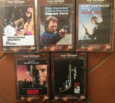 Clint Eastwood DIRTY HARRY 1 2 3 4 5 COLLECTION DVD 5 discs