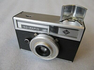 Vintage 1960's Agfa Iso - Rapid 1F 35mm camera, made in Germany