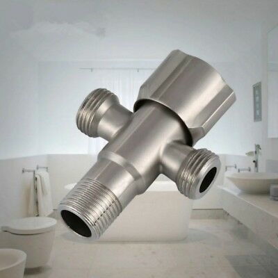 Double-headed Angle Valve 20 MM Water Heater  Triangle Valves Stainless Steel