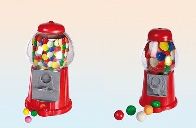 Twin Pack Red Gumball Machine Gummy Sweets Sweet Shop Dispenser Children's Gift