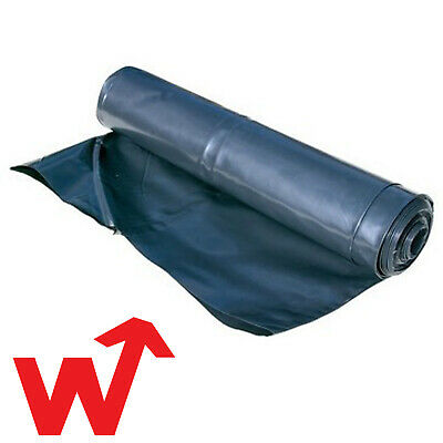 DPM Damp Proof Membrane 1200 Gauge Polythene  1200G 300mu DPM Roll 25M LONG