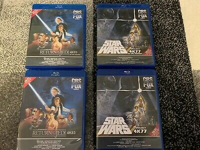Star Wars 4K77 & 4K83 1080p DNR & NO DNR Bluray & Deleted Magic & Holiday Spec