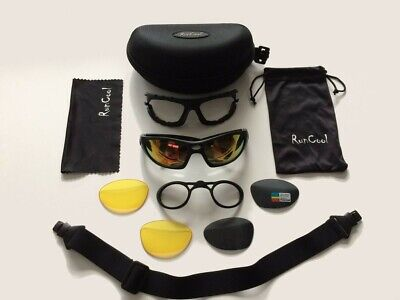 Acor Sports Cycling Bike Sunglasses with Removable Optical Insert