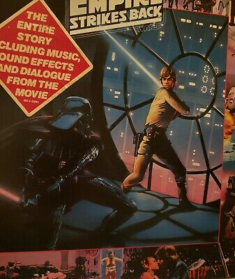 STAR WARS The Empire Strikes Back Adventures Luke Skywalker 1980 LP Record Album