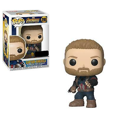 Funko Infinity War Pop! Vinyl Marvel Captain America With Shields Exclusive #288