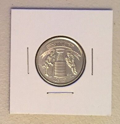 CANADA 2017 New 25 cents 125th Anniversary of the STANLEY CUP (UNC From roll)