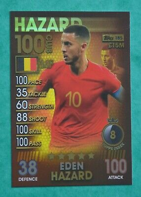 2018/19 Match Attax 101 - Eden Hazard 100 Club