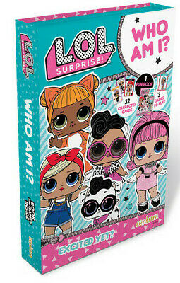 LOL Surprise! Who Am I Party Game for Girls LOL Dolls Guess Who Game Lil Sisters