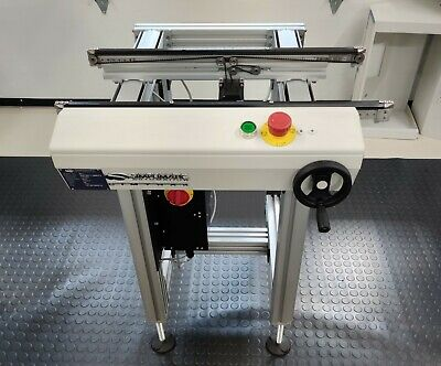 "Simplimatic Automation Cimtrak PCB Conveyor 24"" Model 3011 W/ Tilt"
