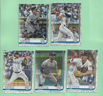 2019 Topps Factory set Sparkle Foilboard parallel #485 Wil Myers - #97/162