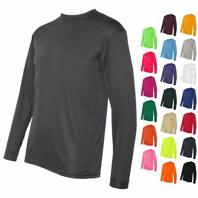 C2 Sport Long Sleeve Performance Mens Athletic Sports Work Out T Shirt 5104