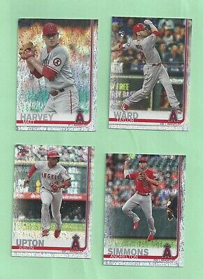 2019 Topps Factory set Sparkle Foilboard parallel #588 Taylor Ward - #153/162
