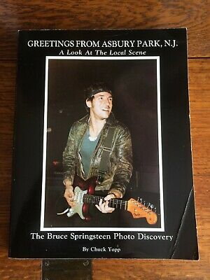 Bruce Springsteen - Greetings From Asbury Park N.j, 1St Edtion By Chuck Yopp