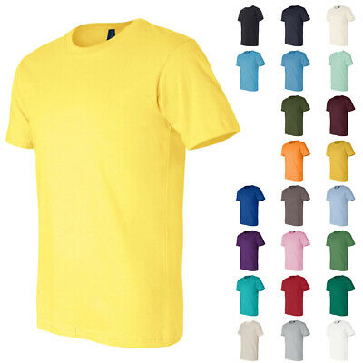 Bella + Canvas UnisexMore Colors  Mens Womens Short Sleeve Jersey T Shirts 3001