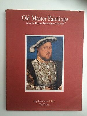 Old Master Paintings From Thyssen-Bornemisza Collection RA 1988