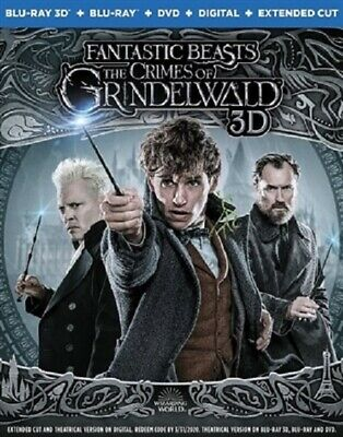 Fantastic Beasts: The Crimes of Grindelw 3D (used) Blu-ray Only Disc Please Read