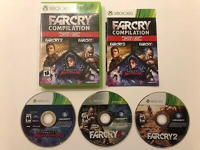 Far Cry Compilation Microsoft Xbox 360 Complete W Case Manual 27 29 Picclick
