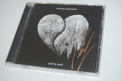 Michael Kiwanuka - Love & Hate (2016) SIGNED/AUTOGRAPHED CD