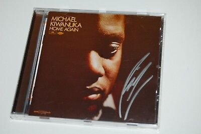 Michael Kiwanuka - Home Again (2012) SIGNED/AUTOGRAPHED CD