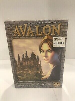 The Resistance: Avalon Board Game Brand New Sealed Secret Identities Deception