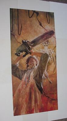 Texas Chainsaw Massacre Poster # 2 Leatherface by Dave Dorman