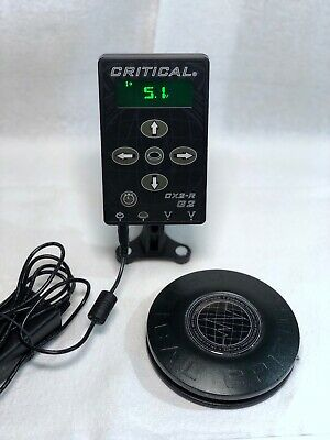 Critical CX2-r G2 Tattoo Power Supply with Wireless Foot Pedal
