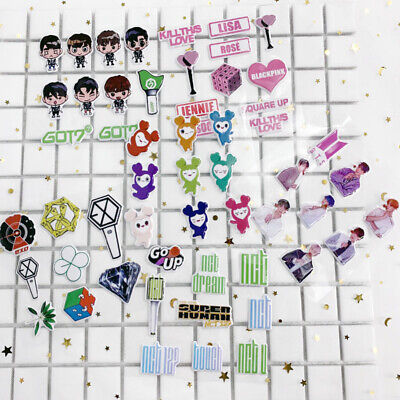 Kpop EXO NCT Twice GOT7 BTS Cute Bubble Sticker for Phone Scrapbook DIY Stickers