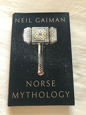 """Norse Mythology"" and ""Odd and the Frost Giants"" both signed by Neil Gaiman RARE"
