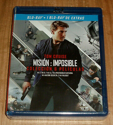 Mission Impossible Collection Complete 7 Blu-Ray Sealed New (Unopened) R2