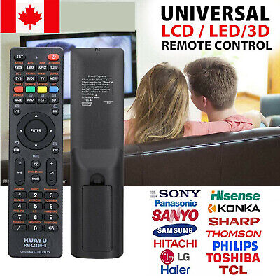 Universal 3D Smart TV Remote Controller For LCD LED Samsung Sony LG Control HD
