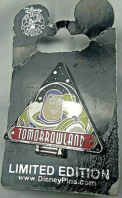 Disney Pin Buzz Lightyear Space Ranger Spin Tomorrowland Limited Edition 110909