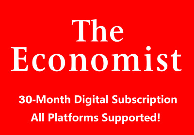 The Economist 2.5-Year Digital Subscription Account All Platforms Region Free
