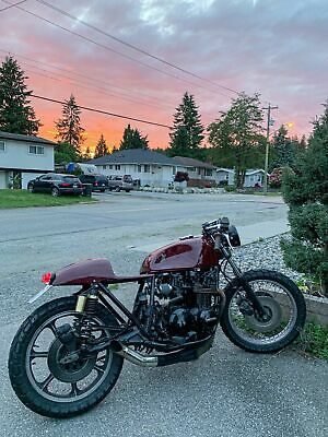 Kawasaki: Other 1979 Kawasaki KZ650 Custom Cafe Racer Motorcycle