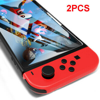2pcs 9H Tempered Glass Screen Protector Hard Film For Nintendo Switch NS Lite A