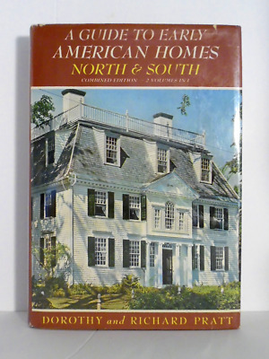 950 Early American Homes North & South 1638-1907 illus history genealogy 480 pp