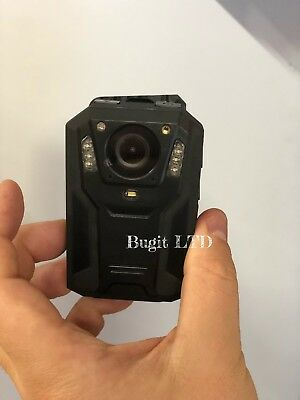 """HD 1296P Body Police Video Camera 32GB 2.0"""" LCD 150° Angle with HD Lens"""