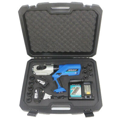 EZ-400 16-400mm² Rechargeable Electric Hydraulic Clamp Plier w/ 2 battery